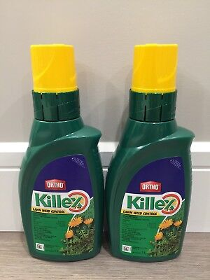 2x Ortho Killex Concentrate 1L-INCLUDES EXPEDITED SHIPPING WITH TRACKING NUMBER