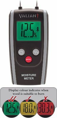 Valiant Colour Change Moisture Meter - New Model For 2018 - Test Your Firewood!