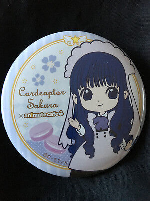 Cardcaptor Card Captor Tomoyo Animate Cafe Pin Badge Button