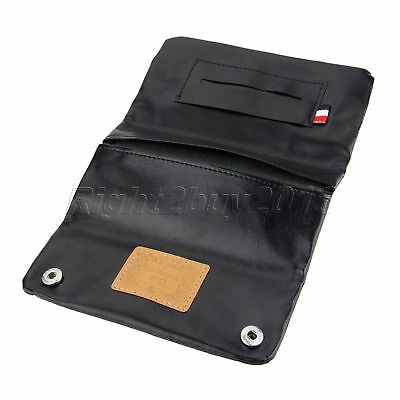 Smoking Accessories PU Leather Tobacco Pouch Cigarette Holder Wallet Bag Purse