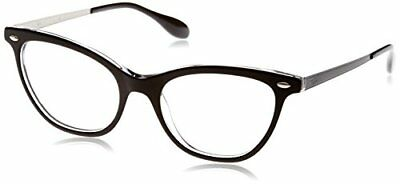 Ray-Ban 5360, Montature Donna, Nero (Top Black on Transparent), 52 (g1T)