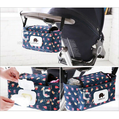 New Baby Pram Stroller Bag Buggy Storage Pushchair Organizer Bottle Pouch Holder