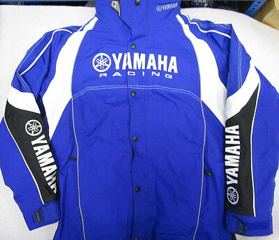 Genuine Yamaha Apparel Paddock Blue Men's Jacket Coat Small
