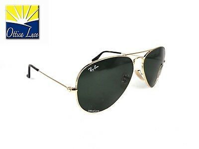 Ray Ban Aviator Large Metal 3025 181 cal 58 Sunglass Sonnenbrille Occhiali Sole
