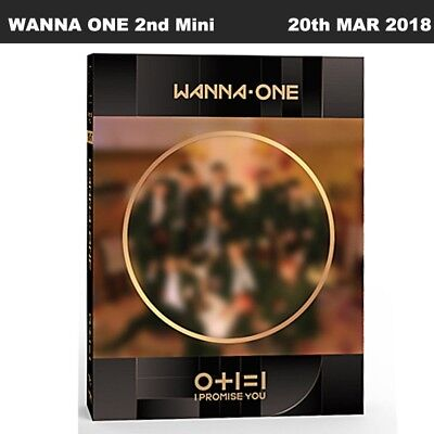 WANNA ONE 0+1=1 I Promise You Night Ver 2nd Mini Album CD+Poster+Booklet+Etc