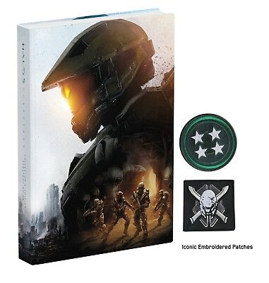 HALO 5 Guardians Collector's Edition Prima Hardcover strategy Guide book NEW
