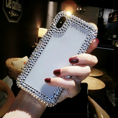 Bling Crystal Rhinestone Cover Glitter Diamond Phone Case For iPhone678 X XS XR