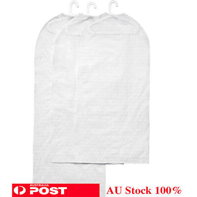New Clothes Cover Garments Protector Dustproof Dress Storage Bag Transparant