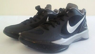 b6154971a3416 New NIKE Size 5.5 Volley Zoom Hyperspike Volleyball Shoe Black 585763 001
