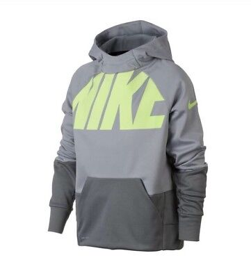Nike Boys Therma DriFit Pullover Hoodie Size Large NWT