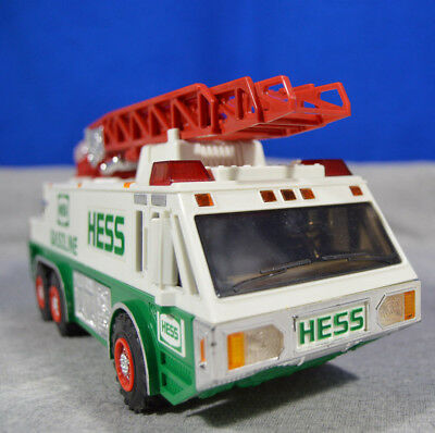 1996 Hess Rescue Truck Unused in Box - Clean and Near Mint!