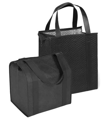Large Insulated Shopping Bag (2 pack)