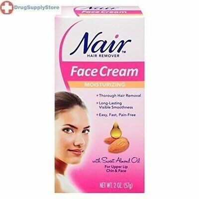 Nair Moisturizing Face Cream, 2 Ounce