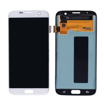 LCD Screen Display Touch Digitizer Assembly Samsung Galaxy S7 Edge White
