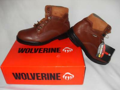 8581091090d NEW MEN'S WOLVERINE Durashock Boots - Color Brown - Size 10 - NWT $145.00