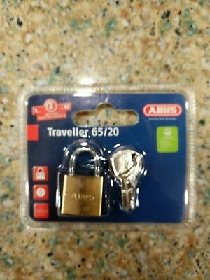ABUS 55//50 B KD 2-Inch All Weather Solid Brass with Hardened Steel Shackle K