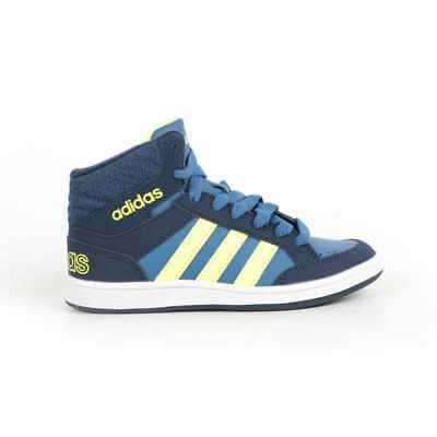 separation shoes 1744e bea3d Adidas Scarpa Bambini Sneaker Adidas Neo Ps Hoops Mid BB9946-BLU