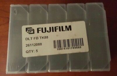 FUJIFILM DLT IV TAPE CARTRIDGES  40GB 80GB  5 count for DLT 8000 and DLT1 NEW