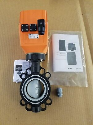 Georg Fischer Electric actuated Butterfly valve