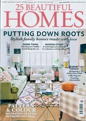 25 Beautiful Homes Magazine Issue May 2018 ~ New ~