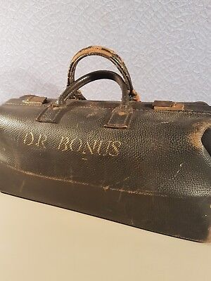 leather doctors bag Dr. BONUS