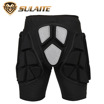 Skiing Roller Skating Shorts Pad Pants Exercise Gear Reflector Hip Protectors
