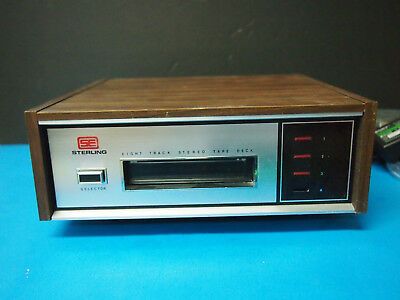 Sterling Electronics 8 Track Player 84-0800