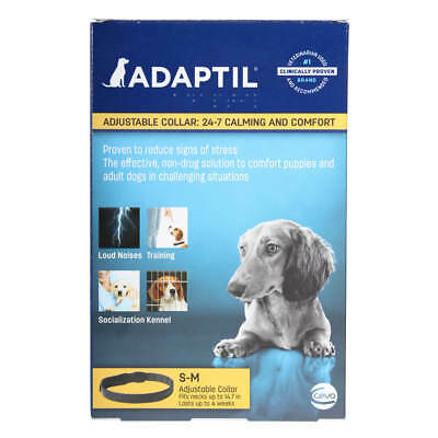 New ADAPTIL D.A.P. Collar (Small Dogs)(Calming Pheromone) - Ships Free
