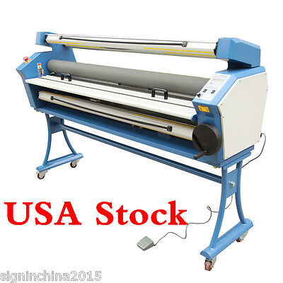 "Upgraded 55"" Full-auto Low Temp. Wide Format Cold Laminator,with Heat Assisted"