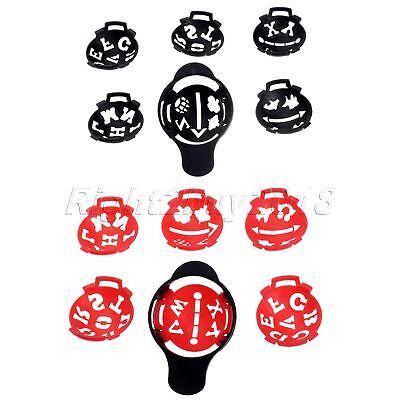Sports Golf Ball Line Liner Marker Template Set Drawing Alignment Marks Sign Kit