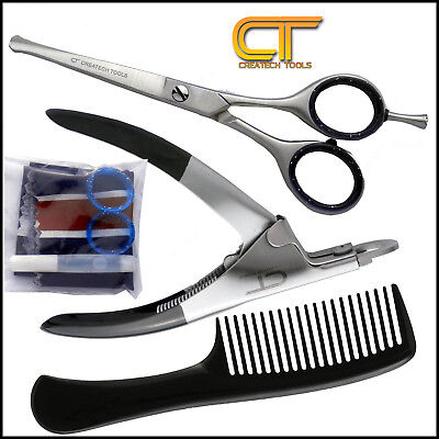 Pet Dog Cat Grooming Hair Cutting Safety Curved Scissors, Nail Toe Claws Clipper