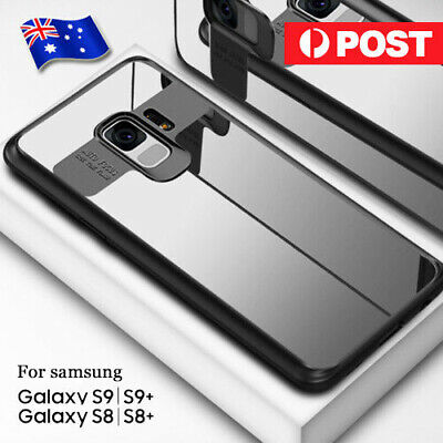 Samsung Galaxy Note 8 S8 S9 Plus Slim Case Luxury Clear Cover Shockproof Bumper