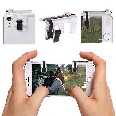 Left/Right Gaming Trigger Fire Button Cell Phone L1R1 Shooter Controller PUBG V5