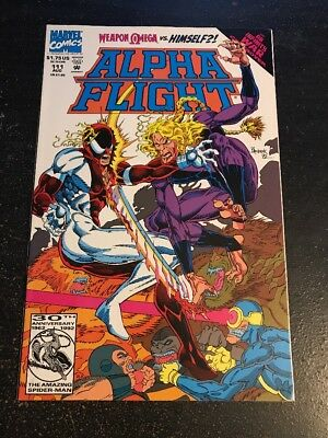 "Alpha Flight#111 Incredible Condition 9.2(1992)""Infinity War"" Weapon Omega !!"