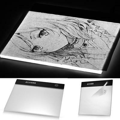 A5 LED Grafiktablett Touchpad Stift-Tablet Tracing Animation Skizze Copyboard