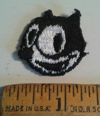 Felix the Cat Embroidered Patch Sew On Small 1.25""