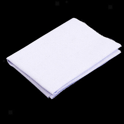 White 11 14 Count Cross Stitch Cloth Aida Fabric DIY Hand Embroidery Cloth