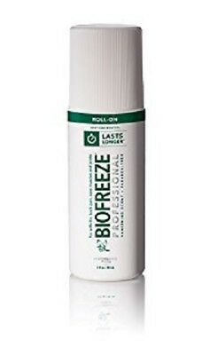 Biofreeze Professional Pain Relieving Gel - Cold Therapy - 3oz Roll-On - Pk of 1
