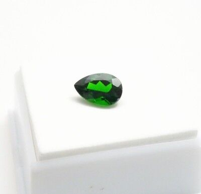 Stunning! Russian Chrome Diopside 2.10ct Pear - 10x7mm - Loose Gemstone