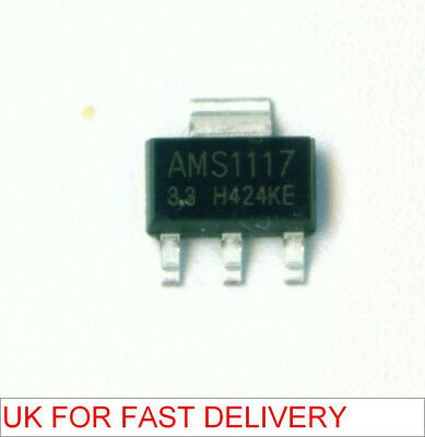 25 pcs AMS1117 3.3V low dropout voltage regulator (LM1117)