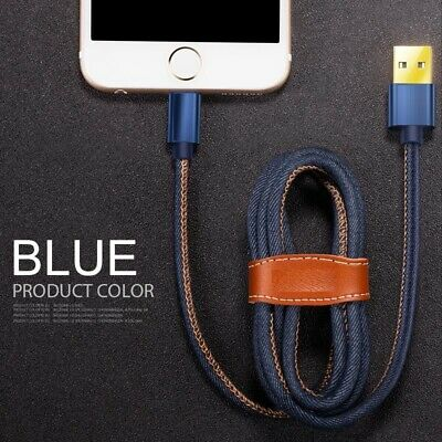Lighting USB Data Cable Charger Lead Fast Charging For iPhone 6 7 8 XS XR & iPad