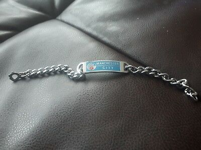manchester city football team bracelet