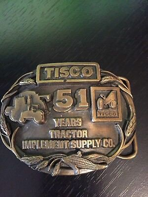 TISCO Tractor Implement Supply Co. 51 Years Belt Buckle Limited Edition Series 1