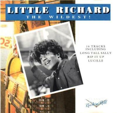 LITTLE RICHARD - The Wildest! (CD 1992) MINT Best of/Greatest Hits OOP 16 Tracks