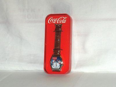Coca Cola Santa Christmas Watch with Tin (2010 Limited Edition) coca cola