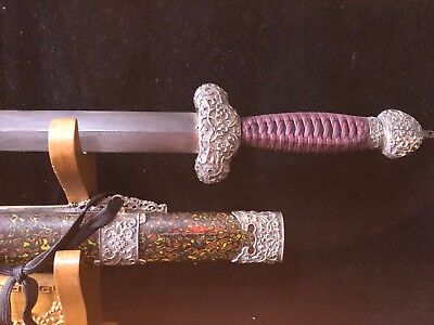 "Special offer Collectable Handmade Chinese Sword""Jian"" Sharp blade"