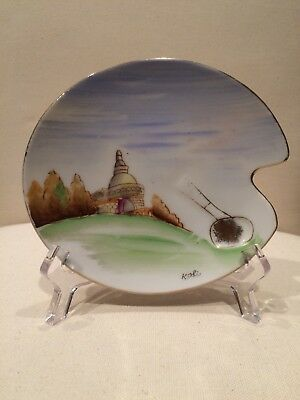 Ardalt Lenwile China Hand Painted Decorative Plate Dish Occupied Japan