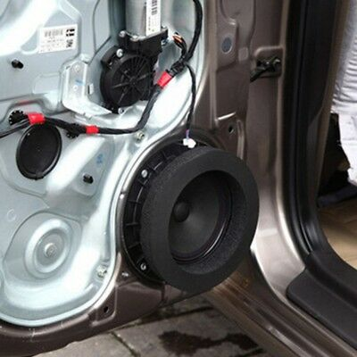 """1PC 6"""" 6.5"""" Inch Car Universal Speaker Insulation Ring Soundproof Cotton Pad"""