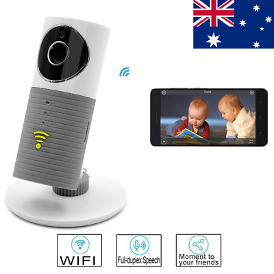 IP Wireless Camera Baby Care Monitor Security WIFI Night Vision Audio Video AU!