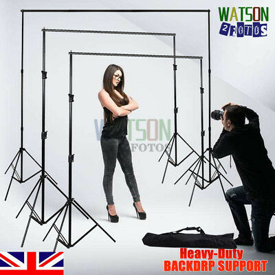 PRO.Photo Studio Heavy Duty Backdrop Stand KIT Adjustable Background Support SET